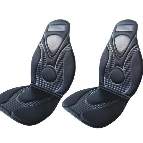2x beheizbare Sitzauflage im Set 12Volt 45Watt HP Autozubehör