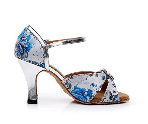 Minitoo - De salón mujer Light Blue-7.5cm Heel