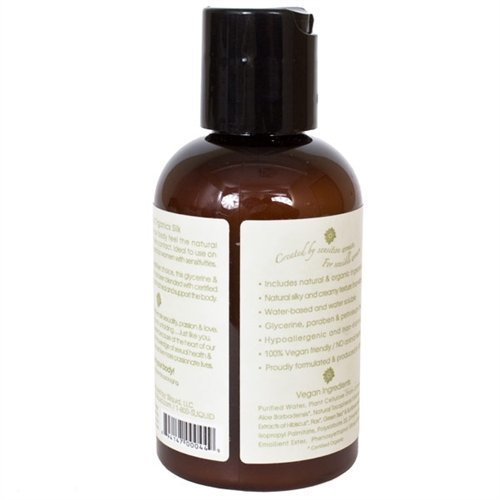 Sliquid organics silk lubricant - 4.2 oz