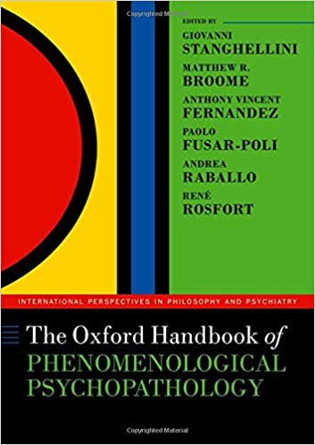 The Oxford Handbook of Phenomenological Psychopathology (International Perspectives in Philosophy and Psychiatry) - Original PDF