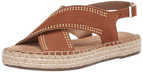 Suede Aerosoles Sandals (Aerosoles Women's Espresso Sandal, LT TAN Suede, 8 M US)