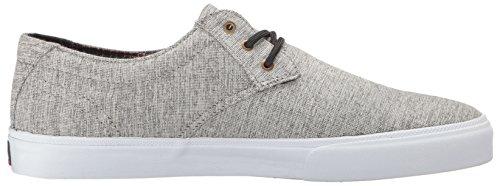 Lakai Mens Mj Skateboard Chaussure Gris Textile