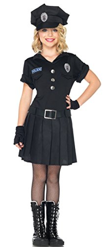 Cop Girl Costume (Leg Avenue Children's Playtime Police Costume)