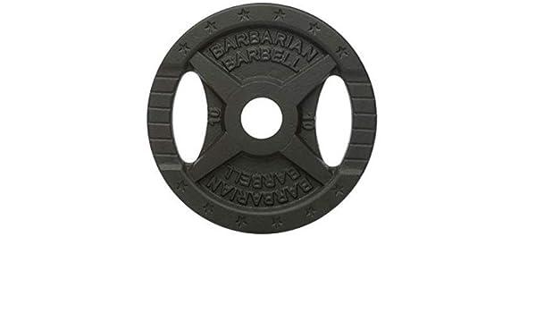 Original Barbarian * Pesas Peso 10 kg – fundido 50 mm: Amazon.es: Deportes y aire libre