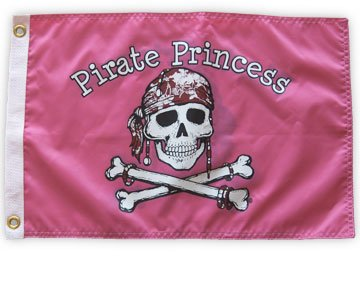 Pirate Princess Flag by Flappin' Flags