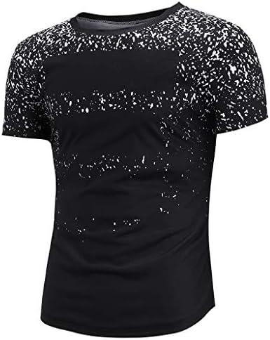 waotier Camiseta De Manga Corta para Hombre Camiseta con Estampado De Rayas Ropa Hombre De Verano De Moderno: Amazon.es: Ropa y accesorios