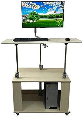 Mesas Auxiliares para el Hogar Mesa de Pie Mesa de Computadora de ...