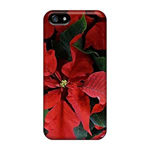 Fashionable NhQtc5684zYZnT Iphone 5/5s Case Cover For Holiday Flowers Protective Case