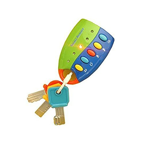 Flash Music Smart Remote Car Key Baby Toy (Keys Kids)