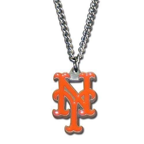 [MLB New York Mets Chain Necklace] (Mlb Jewelry)
