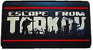 Parche bordado de Escape de Tarkov, diseño militar de velcro: Amazon.es: Juguetes y juegos