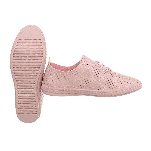 para Rosa 1838 Bajas Zapatos 5 Mujer Ital Design Plano Zapatillas Zapatillas f6z8qwExUw