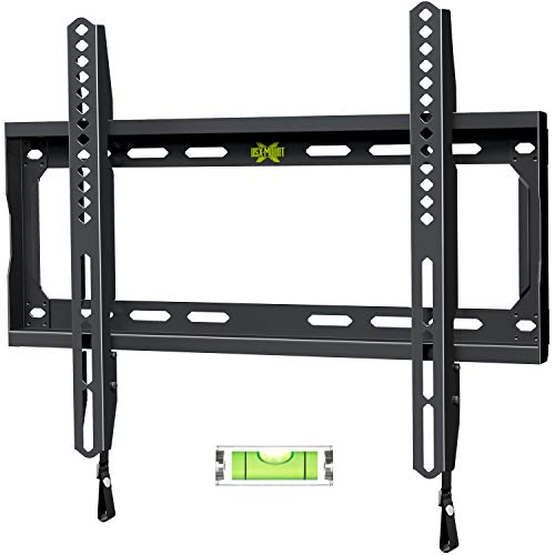 USX MOUNT TV Wall Mount for Most 37-70 Inch LED, LCD and Flat Screen TVs, TV Mount with VESA Up to 600x400mm and Weight Capacity 132lbs, Low Profile, Fixed and Space Saving TV Bracket