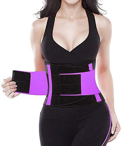YIANNA Women Waist Trainer Belt – Slimming Sauna Waist Trimmer Belly Band Sweat Sports Girdle Belt