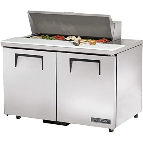 True ADA Compliant 12 Cu Ft Sandwich Salad Unit W 10 Pans