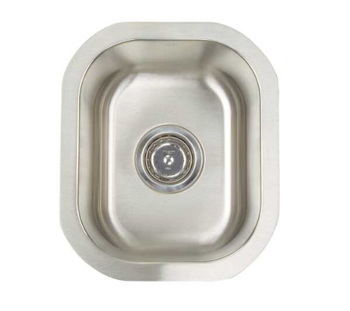 Artisan AR 1214 D7-D Premium Collection 16-Gauge 12-Inch Undermount Single Basin Stainless Steel Bar - Sink Artisan Undermount