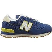 New Balance Kid's 574 V1 Fashion Lace-Up Sneaker, Nb Dark Blue, 4 M US Toddler