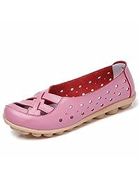 Moonwalker Women's Leather Summer Loafers 2017 New Style