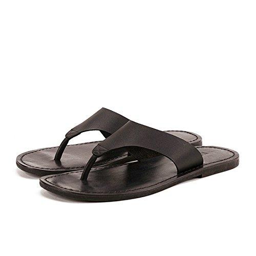 più foto negozio del Regno Unito miglior servizio Pantofole Infradito Uomo in Vera Pelle Maschile per Uomo Sandali ...