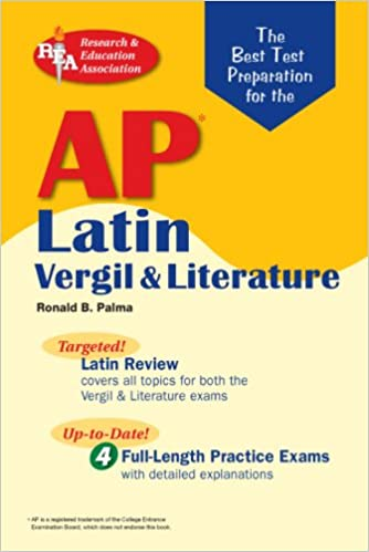 Amazon ap latin vergil and literature exams rea the best test amazon ap latin vergil and literature exams rea the best test prep for the ap vergil and literature exams advanced placement ap test preparation fandeluxe Image collections