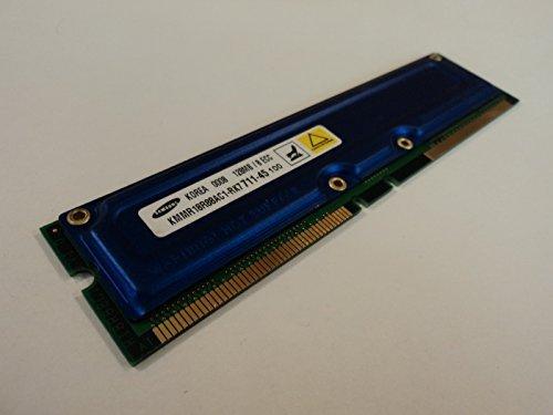 Rdram Rimm Memory Module - Samsung RAM Memory Module 128MB PC700 RDRAM RIMM ECC KMMR18R88AC1-RK7