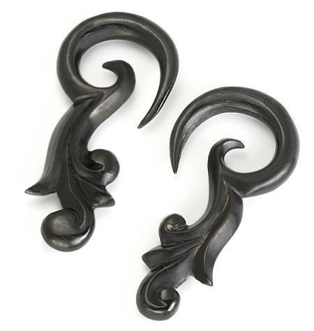 Price Per 1 00g HIKARU Wholesale Horn Hanger Organic Body Jewelry 12g