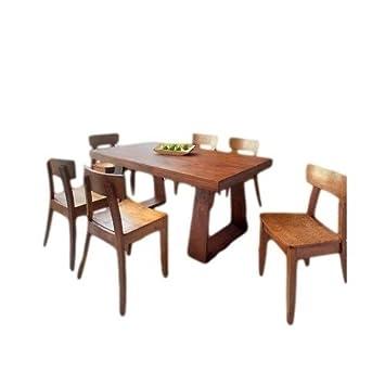 gold sparrow 7 piece emily new oak dining set