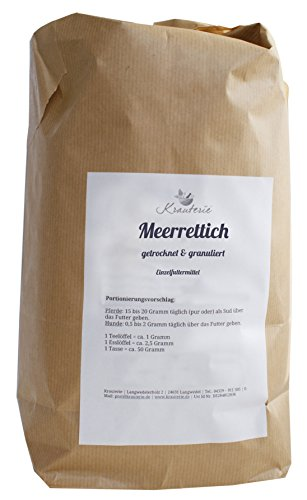 Meerrettich | hervorragende Qualität | granuliert | ohne Zusätze | Armoracia rusticana | 250 g