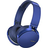 Sony MDR-XB950BT/L Extra Bass Bluetooth Wireless Headphones w/Microphone - Blue (Certified Refurbished)