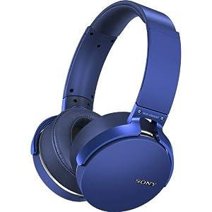 Sony MDR-XB950BT/L Extra Bass Bluetooth Wireless Headphones w/Microphone – Blue (Certified Refurbished)