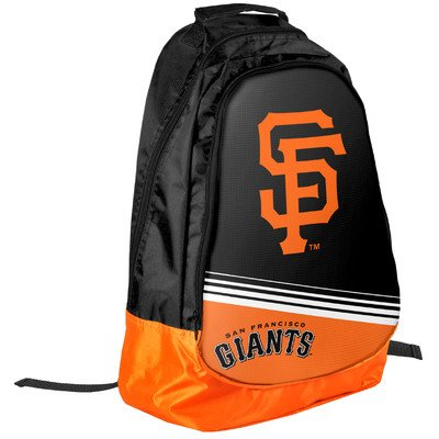 (Forever Collectibles MLB San Francisco Giants 2015 Stripe Core Backpack, Black)