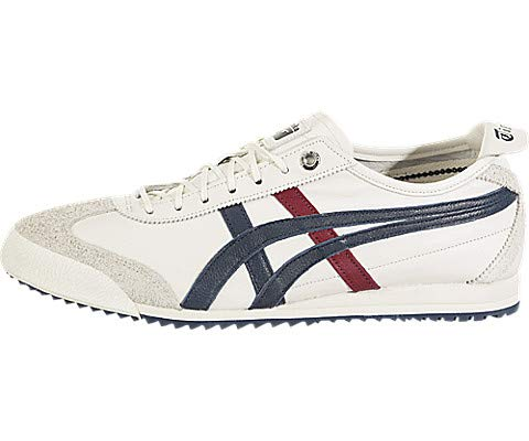 brand new f80ce 0cdfc Onitsuka Tiger Unisex Mexico 66 SD Shoes 1183A036, Cream/Peacoat, 10 M US