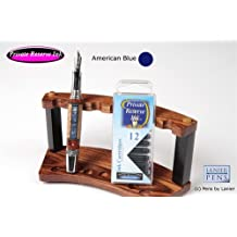 12 Pack Universal Fountain Pen Cartridges - American Blue