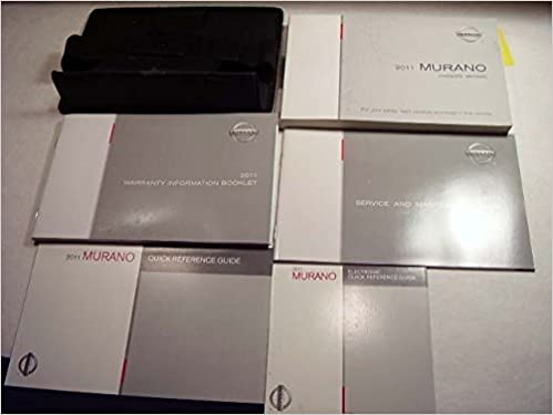 nissan murano owners manual 2011