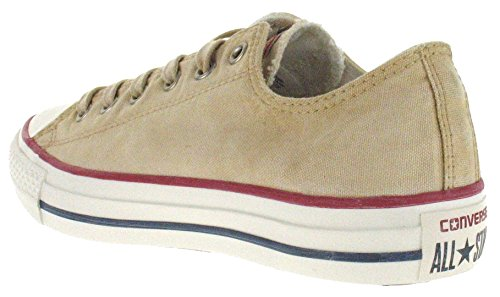 Converse Chuck Taylor All Star Wash Ox - Zapatillas de Deporte de canvas Unisex Turtledove