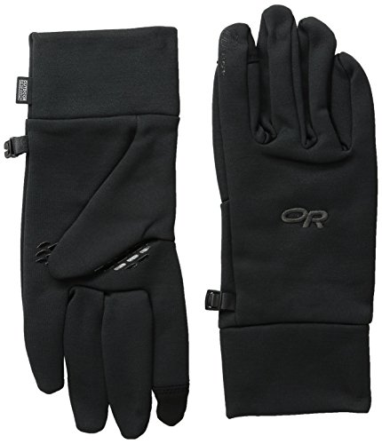 Outdoor Research Men's PL100 Sensor Gloves, Black, Medium