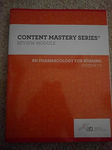 rn pharmacology for nursing edition 7 review module ()