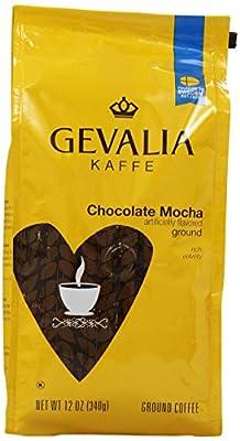 GEVALIA Chocolate Mocha, Ground Coffee, 12 Ounce