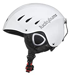 The Lucky Bums Snow Sport Helmet is everything you want in a helmet at an affordable price. It's comfortable, stylish, durable, and most of all, functional. This helmet has two reinforced protective layers. The external cap is made from stron...