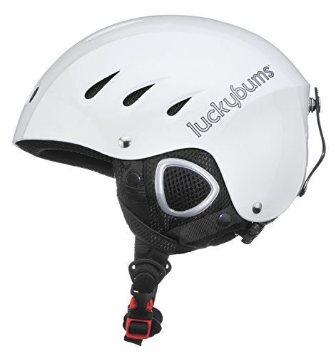 Lucky Bums Snow Sport Helmet, White, X-Large