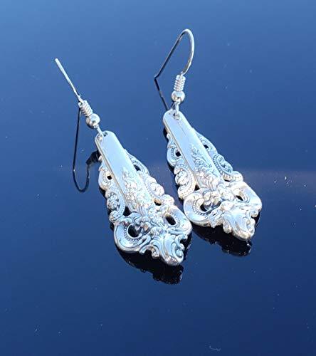 Wallace Grande Baroque 1941 Earrings Sterling