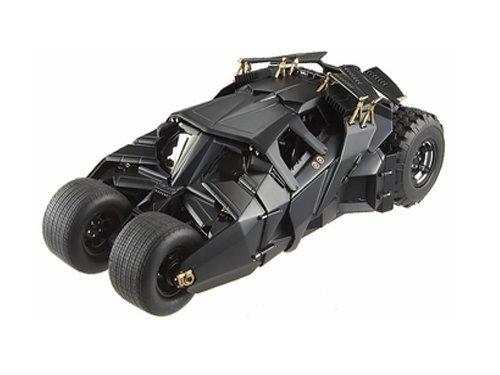 Batman Dark Knight Trilogy Hot Wheels Heritage Batmobile 1:18 Scale (Dark Knight Batmobile)