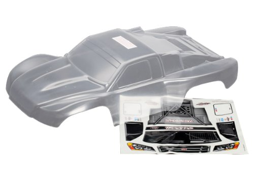 Traxxas 6811 Clear Slash 4x4 Body with Decal Sheet