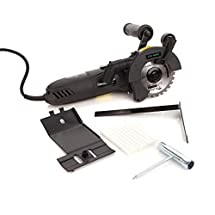 DUALSAW CS 450 Circular Saw with Guide Ruler and Case
