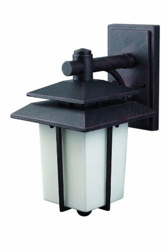 CANARM LTD. IOL162ABZ-C 1 Bulb Outdoor Light, Antique Bronze