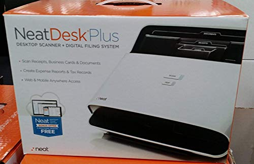 NeatDesk Plus Desktop Scanner + Digital Filing System for PC