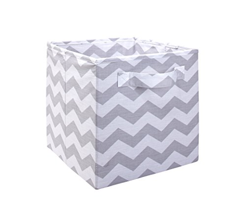 Little Love by NoJo Separates Collection Chevron Nursery Organizer, Grey/White by NoJo