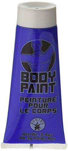 Forum Novelties 3.4 Oz Blue Fx Washable Body Face Paint Sports Fan Halloween Cream Tube Makeup ()