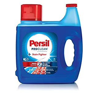 Persil ProClean Stain Fighter Liquid Laundry Detergent, 150 Fluid Ounces, 75 Loads