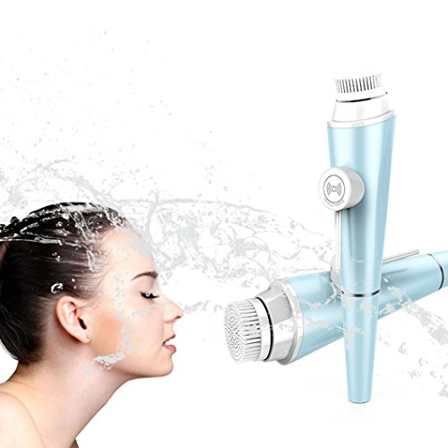 Hot Sale ! Sunfei Electric Cleaning Face Brush (Blue) by Sunfei